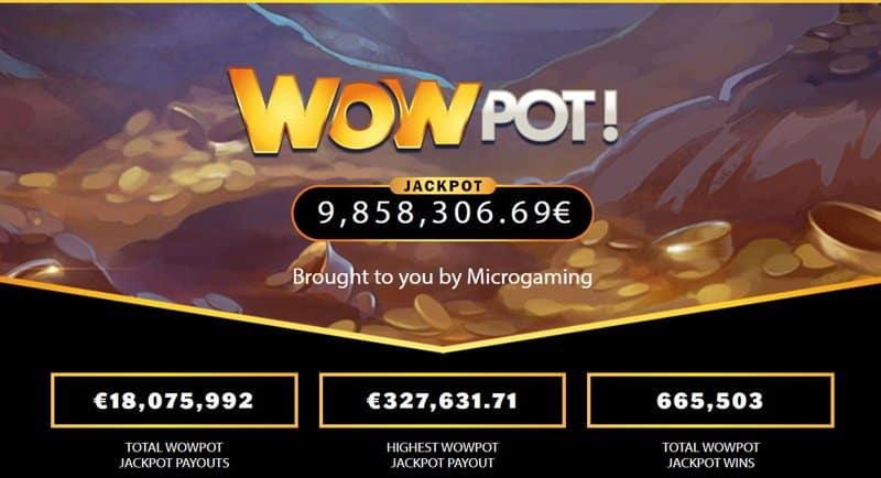 WoWPot Progressive Jackpot Slot Games