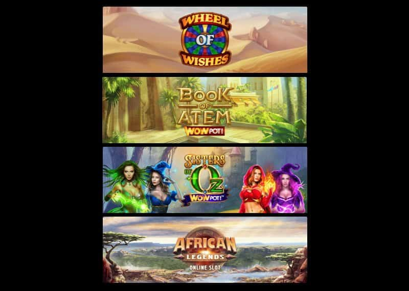Wowpots slot games