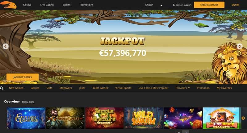 Snabbis casino and sportsbook platform.